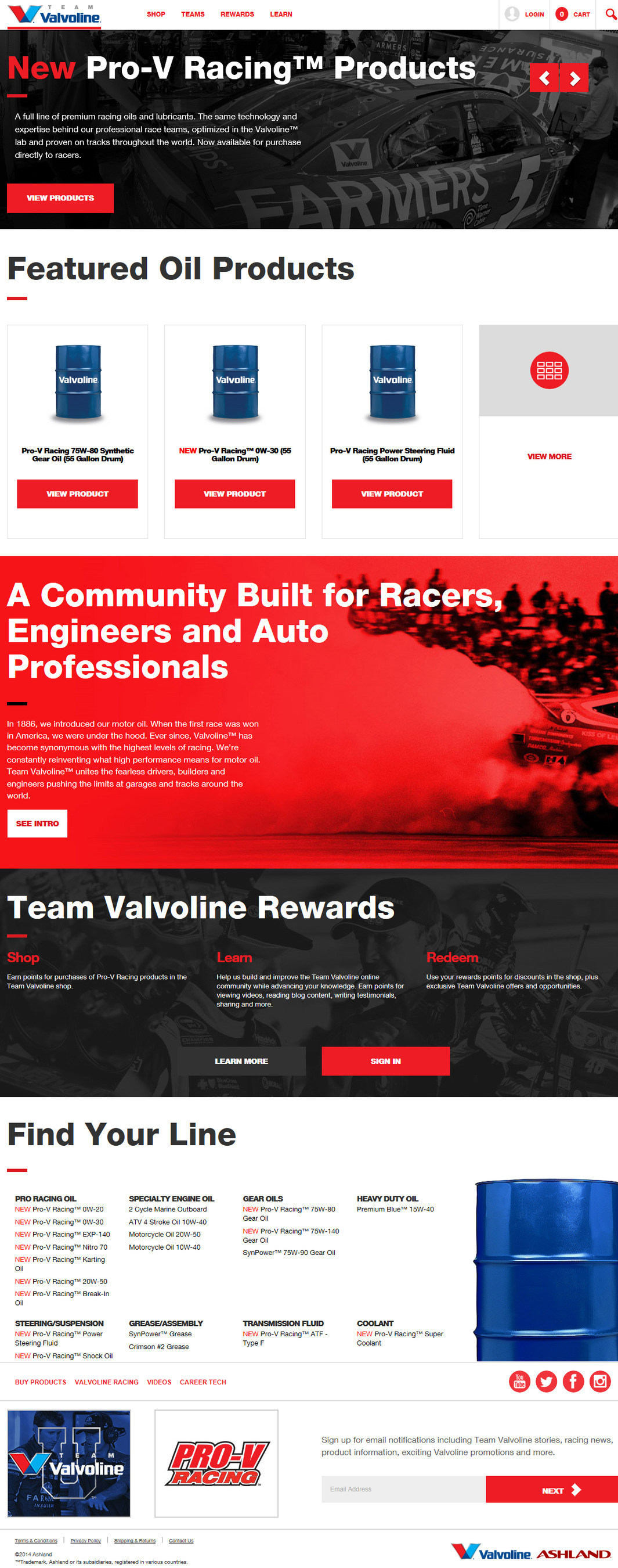 Valvoline Announces New TeamValvoline.com Online Hub for Racers and Enthusiasts