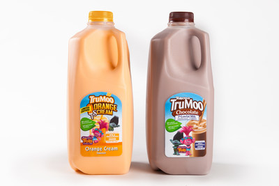 TruMoo Chocolate and limited-edition TruMoo Orange Scream milk