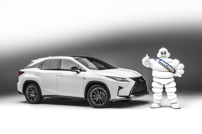 Michelin's Innovative Premier Tires To Come On New 2016 Lexus RX