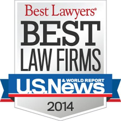Shapiro, Lewis, Appleton, & Favaloro, P.C. Receives Best Law Firm Ranking.  (PRNewsFoto/Shapiro, Lewis, Appleton & Favaloro, P.C.)