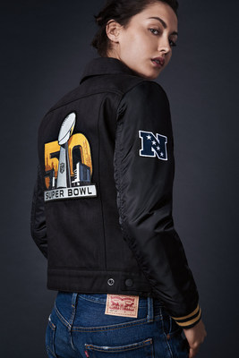 Limited edition Levi's(R) Super Bowl 50 Collection