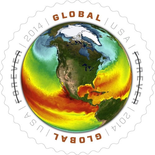U.S. Postal Service Celebrates Earth Day 2014 With New Forever Stamp. (PRNewsFoto/U.S. Postal Service)