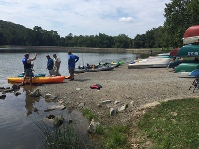 Warriors recently enjoyed a day on the water at Keystone State Park with Wounded Warrior Project.