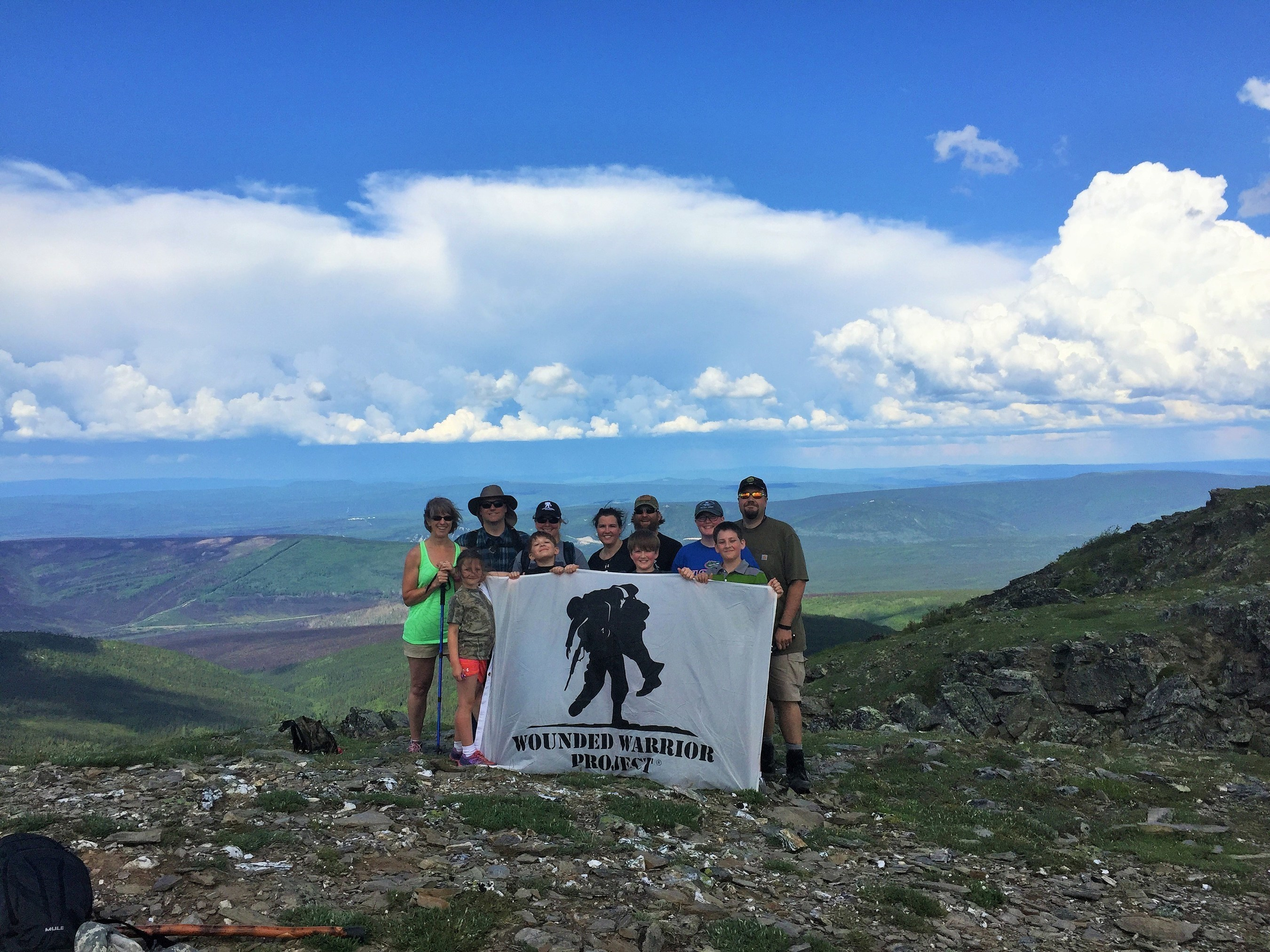 Wounded Warrior Project is hosting an interior hike challenge in Fox, Alaska. The hikes are scheduled to increase in challenge level as the season progresses.