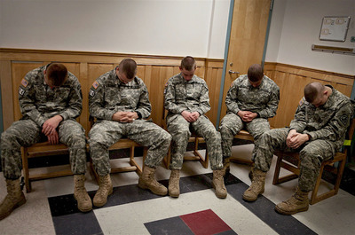 With the U.S. military facing growing demands to reduce soldiers' stress and anxiety, the use of Transcendental Meditation is gaining popularity.  (PRNewsFoto/Maharishi Foundation USA)