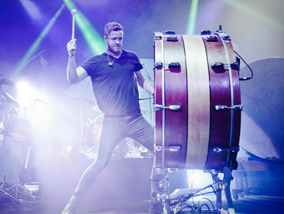 Imagine Dragons.  (PRNewsFoto/Live Nation Entertainment, Liberty Wright)