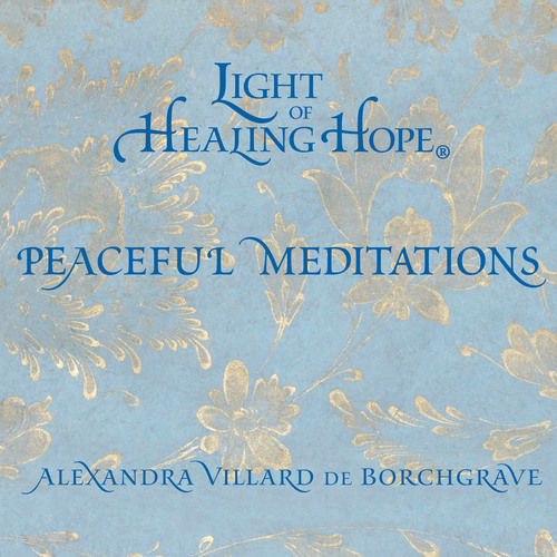 Light of Healing Hope: Peaceful Meditations DVD cover.  (PRNewsFoto/Light of Healing Hope Foundation)
