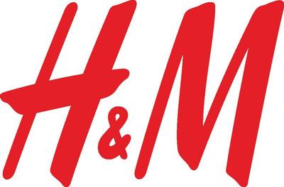 H&M logo.