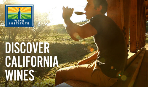 "Discover California wine with a virtual road trip through California wine country. Click here to view the video: http://www.youtube.com/watch?v=lmh5abhWcZc (Editors: For instructions on embedding this video on a website,click on ""Share"" at: http://www.youtube.com/watch?v=lmh5abhWcZc) (PRNewsFoto/Wine Institute)"