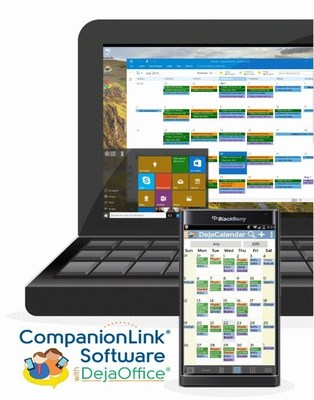 CompanionLink and DejaOffice for BlackBerry Priv