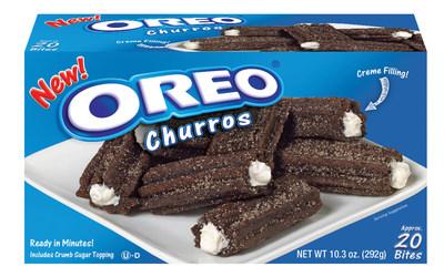 OREO Creme-filled Churro Bites for retail.