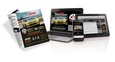 Make It QWIK(TM) Sweepstakes' Digital and Print Promotion