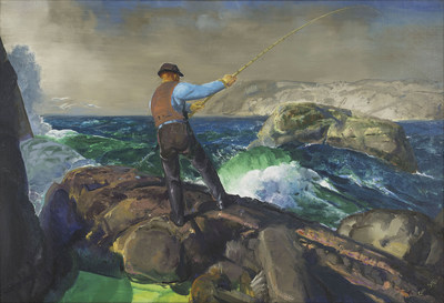George Bellows (1882-1925), The Fisherman, 1917, oil on canvas, Amon Carter Museum of American Art, Fort Worth, Texas