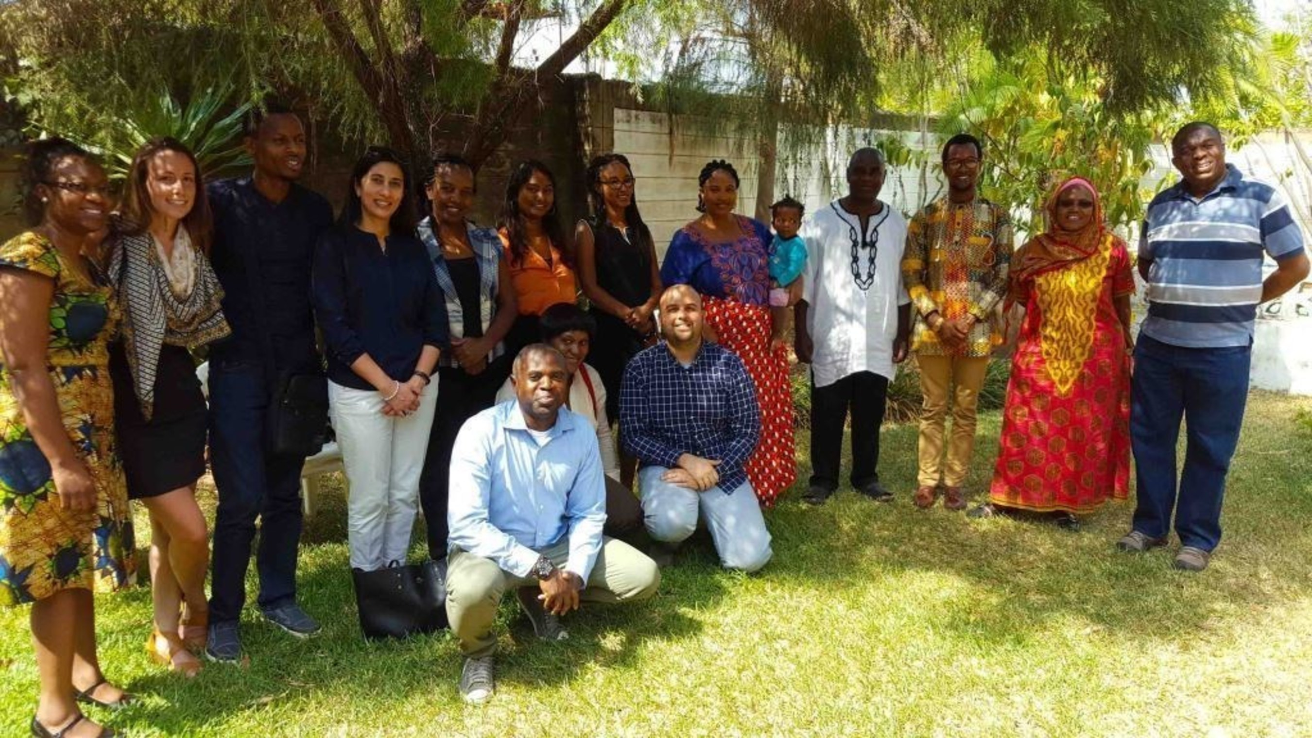 Team members from MCW's international network meet in Lusaka, Zambia for the Fourth Community Leaders Seminar in October 2016.