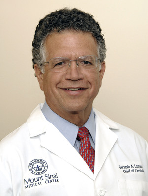 Dr. Gervasio A. Lamas, Mount Sinai's recently appointed Chairman of Medicine and Chief, Columbia University Division of Cardiology at Mount Sinai.  (PRNewsFoto/Mount Sinai Medical Center)