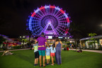 The new Orlando Eye celebrates 4th of July with a 20-minute patriotic lighting show on the 400-foot observation wheel, where more than 64,000 LEDs will be illuminated in red, white and blue.