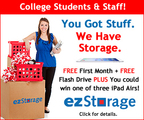 """You Got Stuff.  We Have Storage.""   (PRNewsFoto/ezStorage Corporation)"