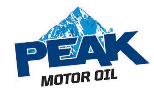 PEAK(R) Motor Oil and Antifreeze Logo.  (PRNewsFoto/PEAK)