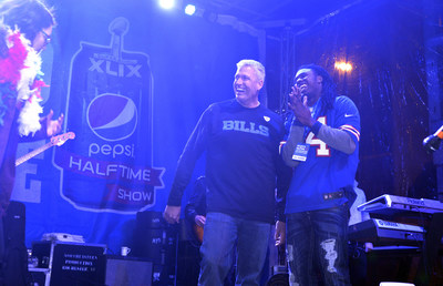 Rex Ryan, new head coach of the Buffalo Bills, and Sammy Watkins, star wide-receiver, joined America's most hyped hometown Rochester, New York for a once-in-a-lifetime halftime extravaganza to get fans hyped for the Pepsi Super Bowl Halftime Show.