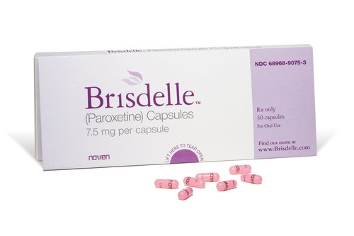 Noven Receives FDA Approval for Brisdelle™ (Paroxetine) Capsules, the First Nonhormonal Therapy for