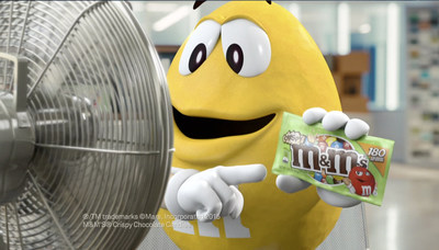 "(January 12, 2015) M&M'S(R) ""spokescandy"" Yellow tells a ""fan"" that M&M'S(R) Crispy Milk Chocolate Candies are back in a new TV commercial. M&M'S(R) Crispy are returning to store shelves this month after a 10-year hiatus, thanks to countless pleas from consumers."
