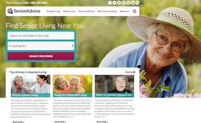 SeniorAdvice.com offers news and guidance for older people and their support systems. The content covers everything from senior issues in the current presidential race to knowing when it's time to consider memory care. The  search engine helps narrow housing options so you can contact places yourself or get in touch with someone who can help you research the possibilities and set up appointments to visit.