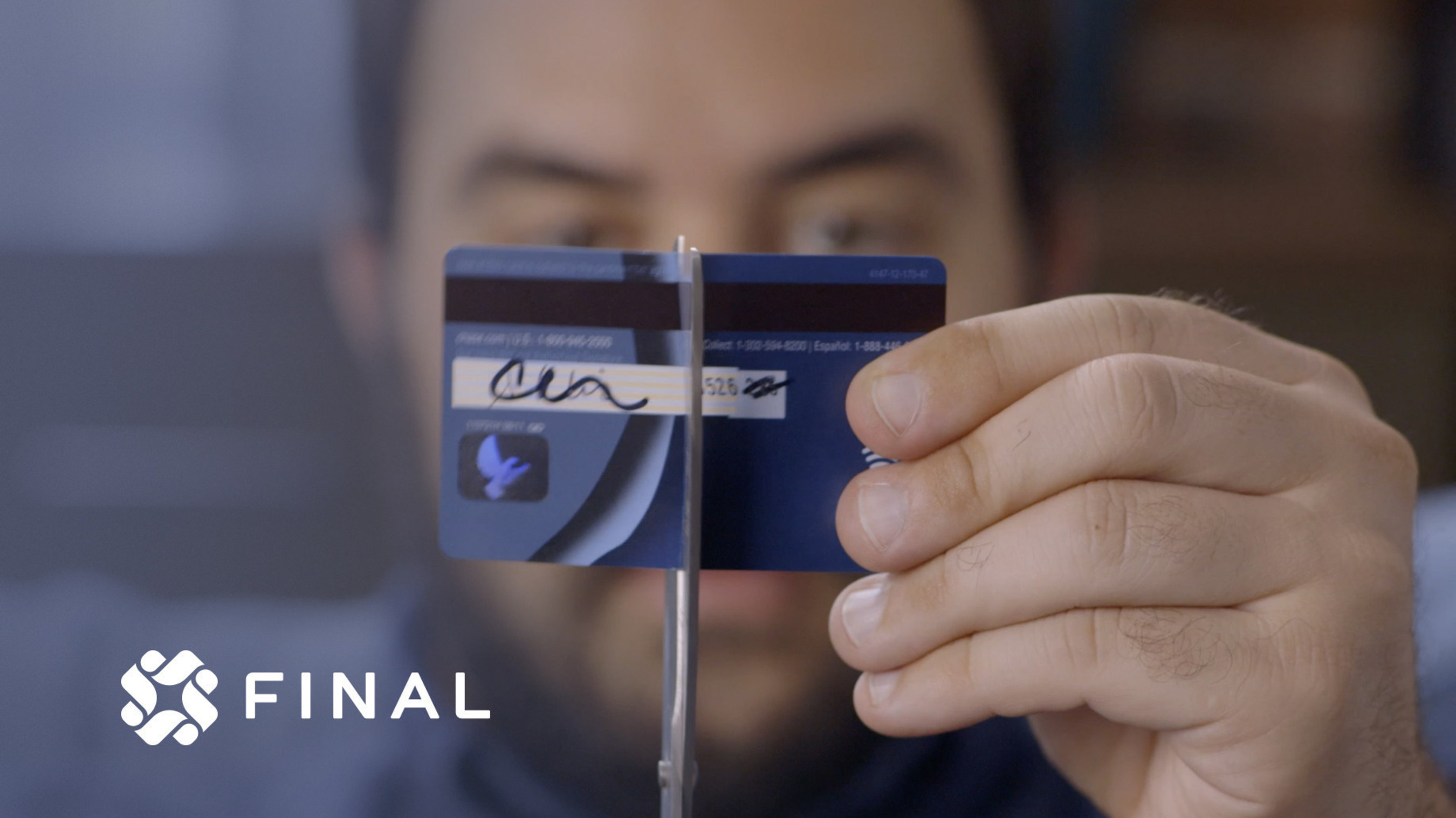 The credit card is broken. We aim to fix it.