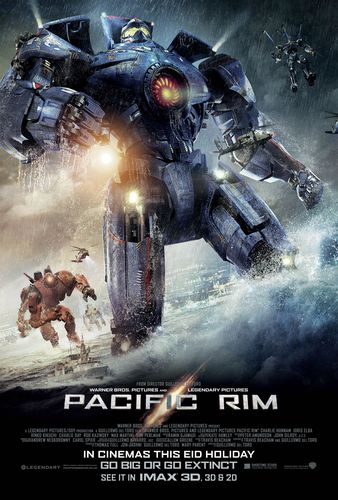 PACIFIC RIM: SEE IT IN IMAX® 3D, 3D & 2D, IN CINEMAS THIS EID HOLIDAY (PRNewsFoto/Shooting Stars)