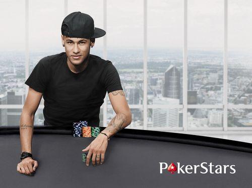 """Neymar Jr âeuro"""" the latest member of Team PokerStars (PRNewsFoto/PokerStars)"""