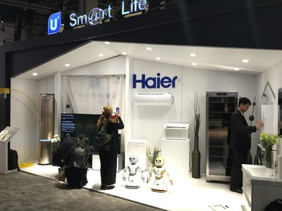 Chinese Home Appliance Leader Haier Debuts its Smart Cloud Housekeeper - Ubot the Intelligent Robot - at CES