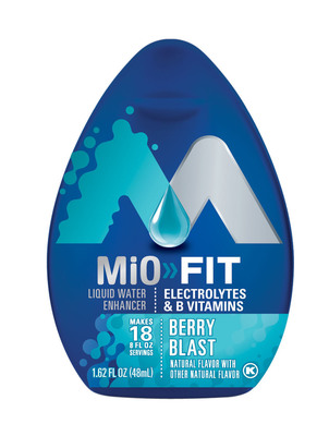 MiO Fit Berry Blast.  (PRNewsFoto/Kraft)