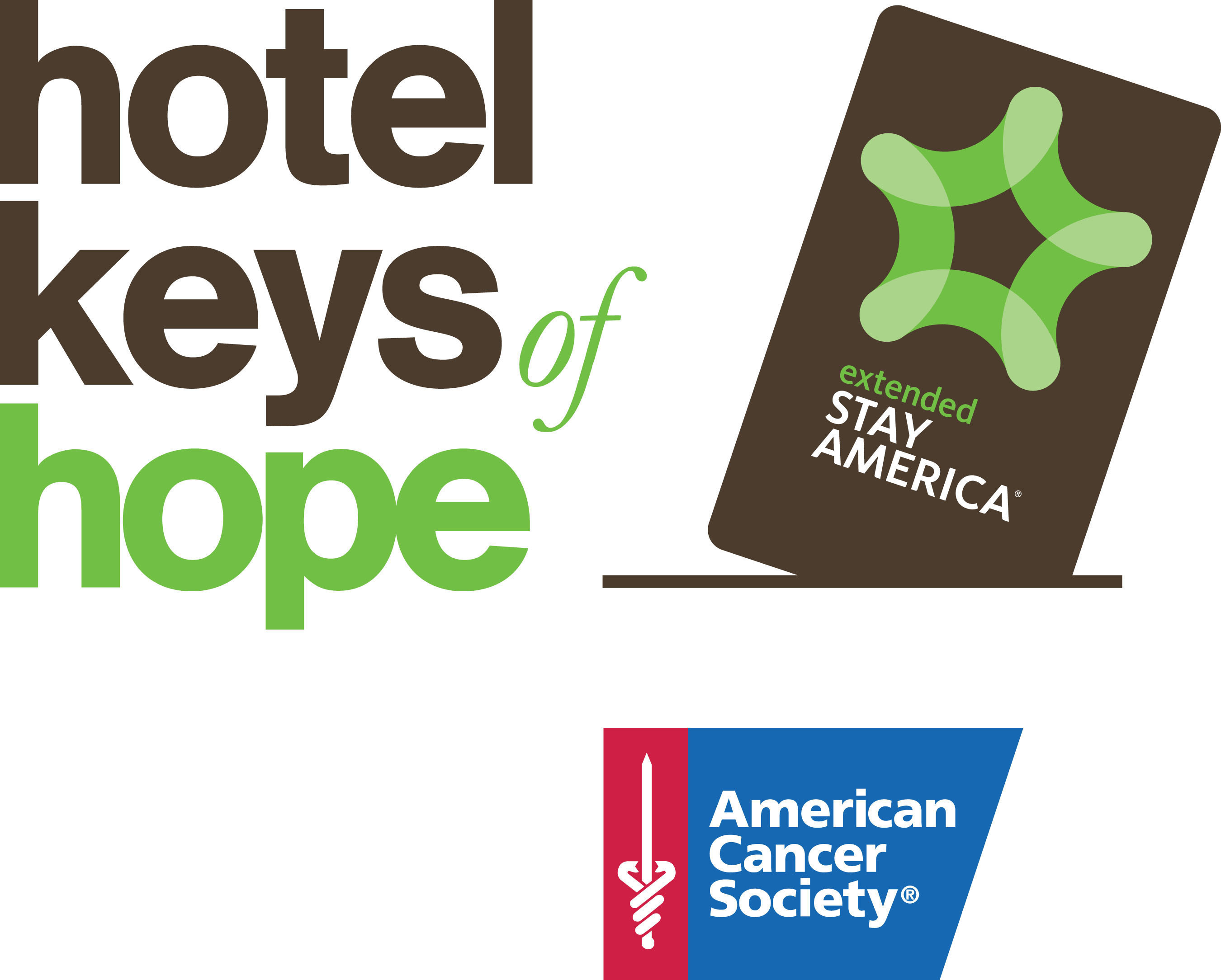 Extended Stay America and the American Cancer Society renew their unprecedented multi-year partnership and flagship room donation program, Hotel Keys of Hope(TM), helping to alleviate one of the largest barriers for cancer treatment - lodging cost during treatment. The hotel brand commits a record-breaking 100,000 rooms over the next two years, providing lodging support to a targeted 15,000 cancer patients.