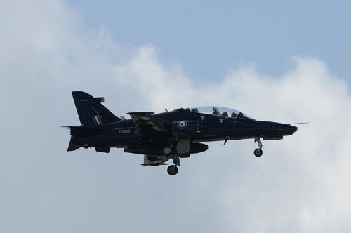 Hawk Advanced Jet Trainer Flies at Fort Worth Alliance Air Show
