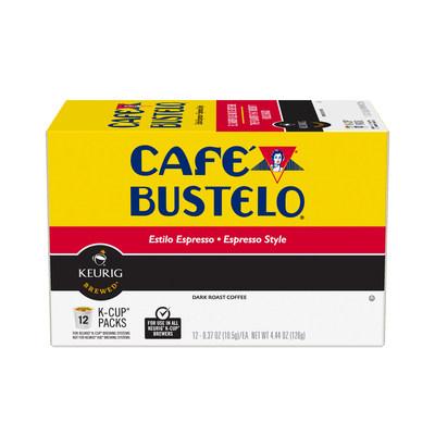 Cafe Bustelo K-Cup Espresso Style