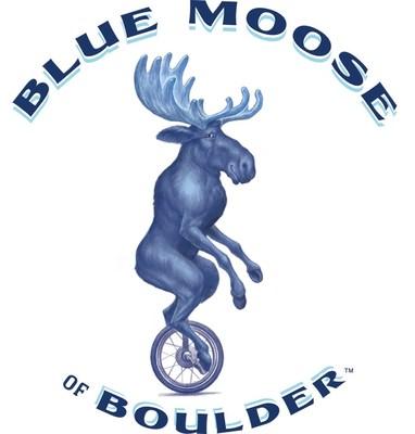 Blue Moose of Boulder Logo