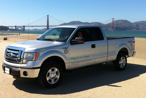 Quantum to Demonstrate Its Plug-In Hybrid Electric F-150 Pick-Up Truck at the Hybrid Truck Users