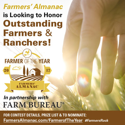 Farmers' Almanac is Looking to Honor Outstanding Farmers and Ranchers