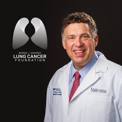 The Bonnie J. Addario Lung Cancer Foundation to Honor Roy Herbst, M.D., Ph.D. with the 2014 Addario Lectureship Award at the 15th International Lung Cancer Congress on August 1 in Huntington Beach, California. (PRNewsFoto/Addario Lung Cancer Foundation)
