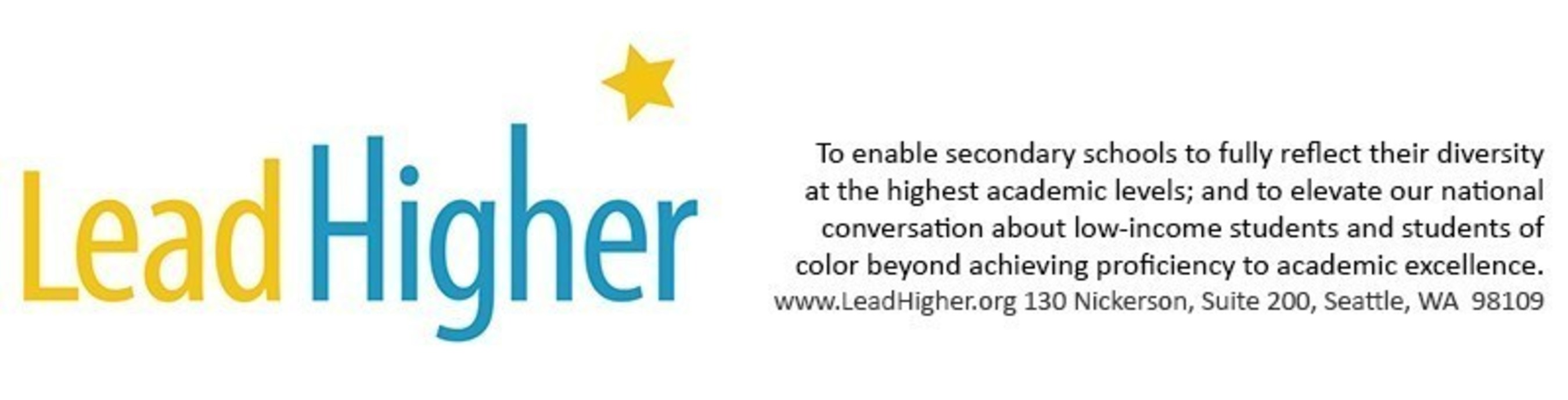 Lead Higher Logo