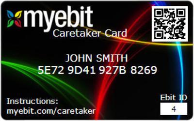 MyEbit card - image 1.  (PRNewsFoto/MyEbituary LLC)