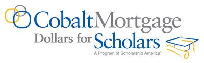 Cobalt Mortgage Dollars for Scholars www.cobaltscholars.org.  (PRNewsFoto/Cobalt Mortgage Dollars for Scholars)