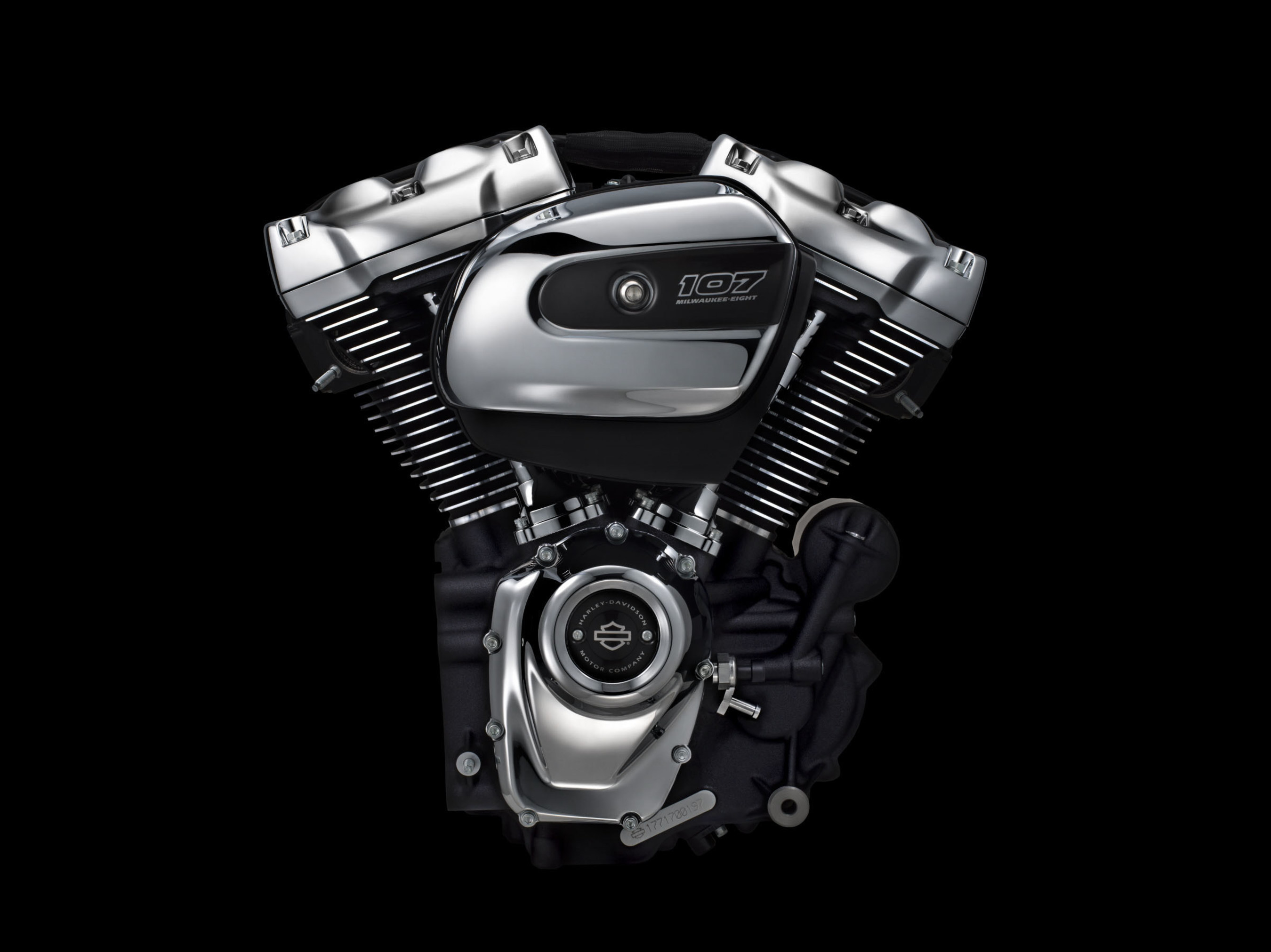Harley-Davidson Launches All-New Milwaukee-Eight Engine