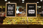 Mrs. Green's Hartsdale offers fresh, 100% organic produce.  (PRNewsFoto/Natural Markets Food Group)