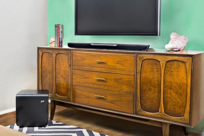 Polk's MagniFi One Sound Bar Provides Dialogue Enhancing Technology