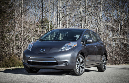 Nissan Begins U.S. Assembly Of 2013 Leaf Electric Vehicle And Batteries.  (PRNewsFoto/Nissan North America)