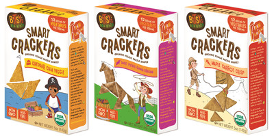 Bitsy's Brainfood Adds Smart Crackers to its Lineup of Nutritious Snacks.