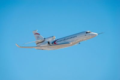 Third Falcon 8X Joins Flight Test Program