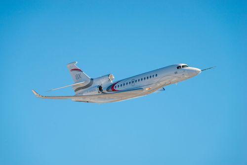 Third Falcon 8X Joins Flight Test Program (PRNewsFoto/Dassault Aviation)