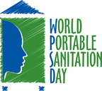 The official World Portable Sanitation Day logo. (PRNewsFoto/PSAI)
