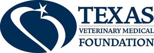 Texas Veterinary Medical Foundation logo. (PRNewsFoto/Texas Veterinary Medical Foundation) (PRNewsFoto/TEXAS VETERINARY MEDICAL FOUN...)